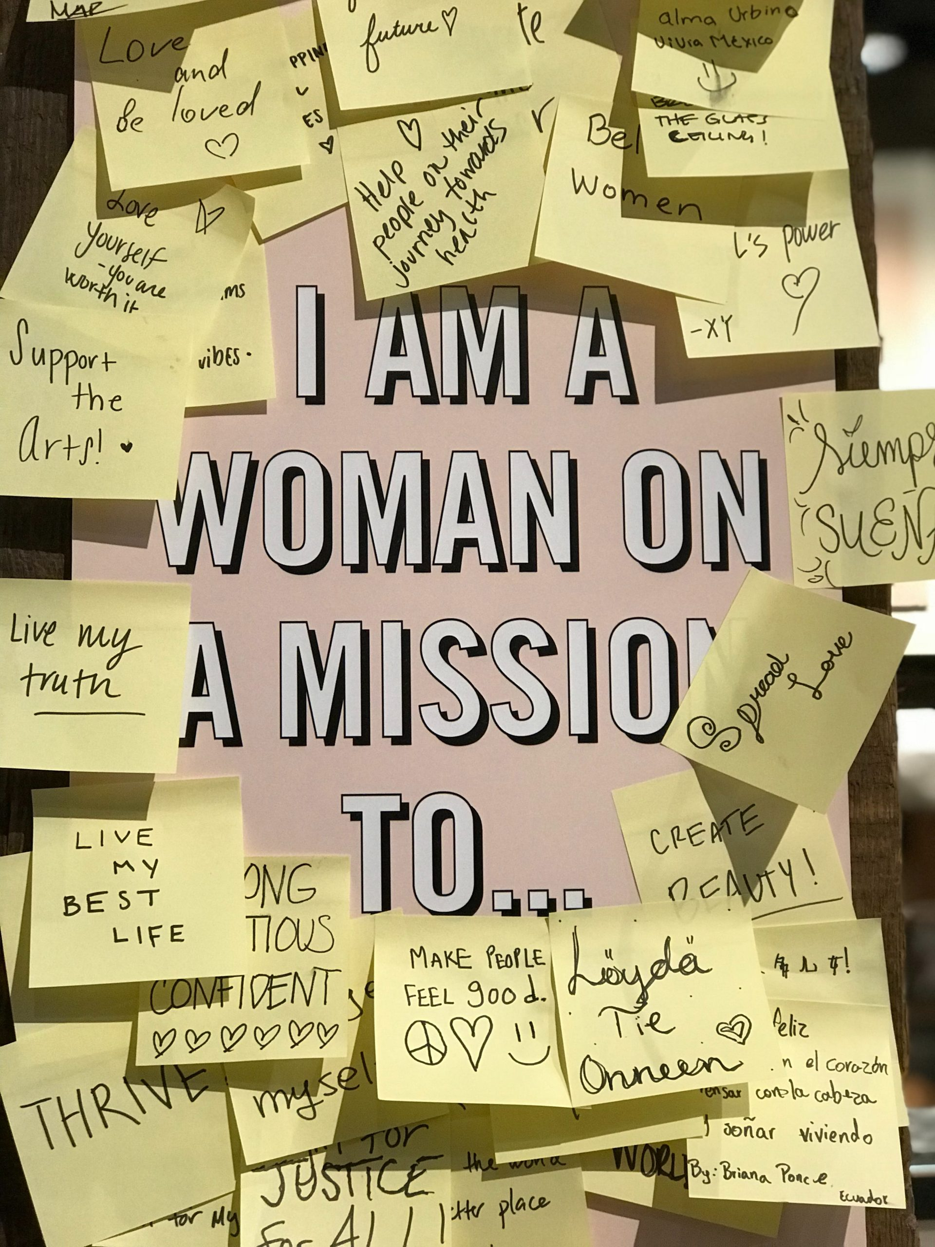 The power of words for Philadelphia Women's Network Connection